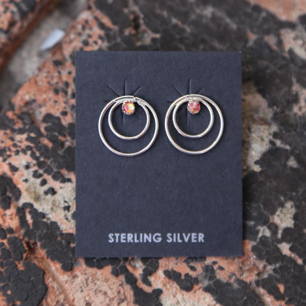Loop Earrings | Sterling