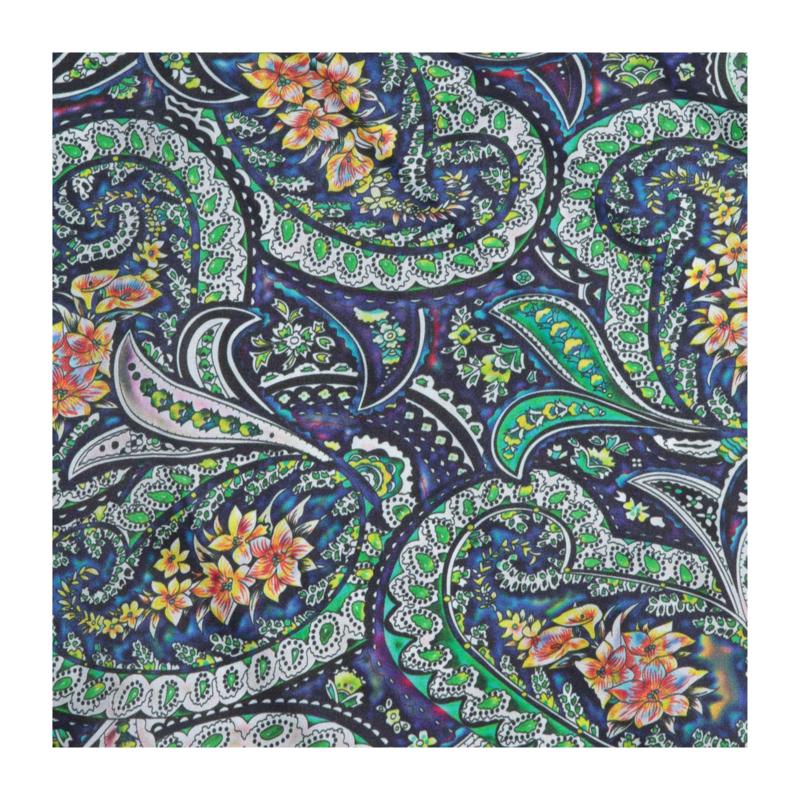 M&F Western | Bright Scroll Floral Silk Scarf