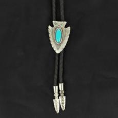 M&F Western | Turquoise Arrowhead Bolo