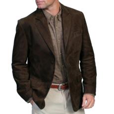 Scully | Leather Blazer
