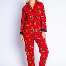 PJ Salvage | Kick Back & Relax Flannel Pajama Set