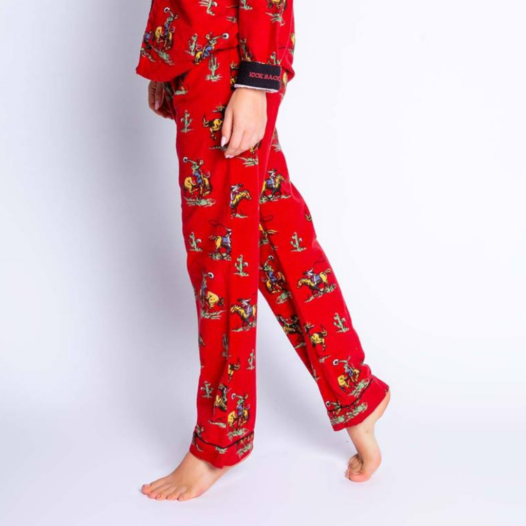 PJ Salvage | Kick Back & Relax Flannel Pant Pajamas