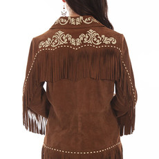 Scully | Fringe Embroidered Jacket