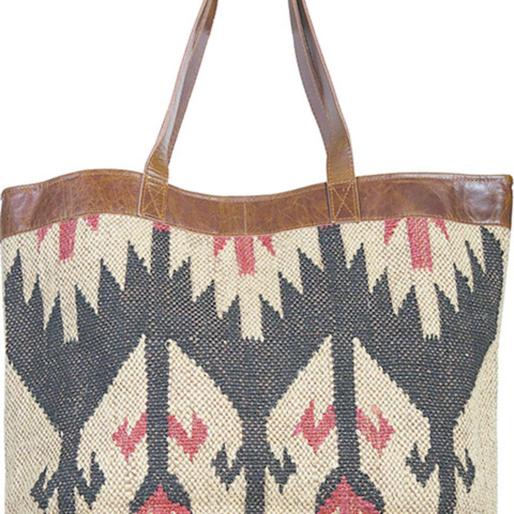 Scully   Woven Handbag