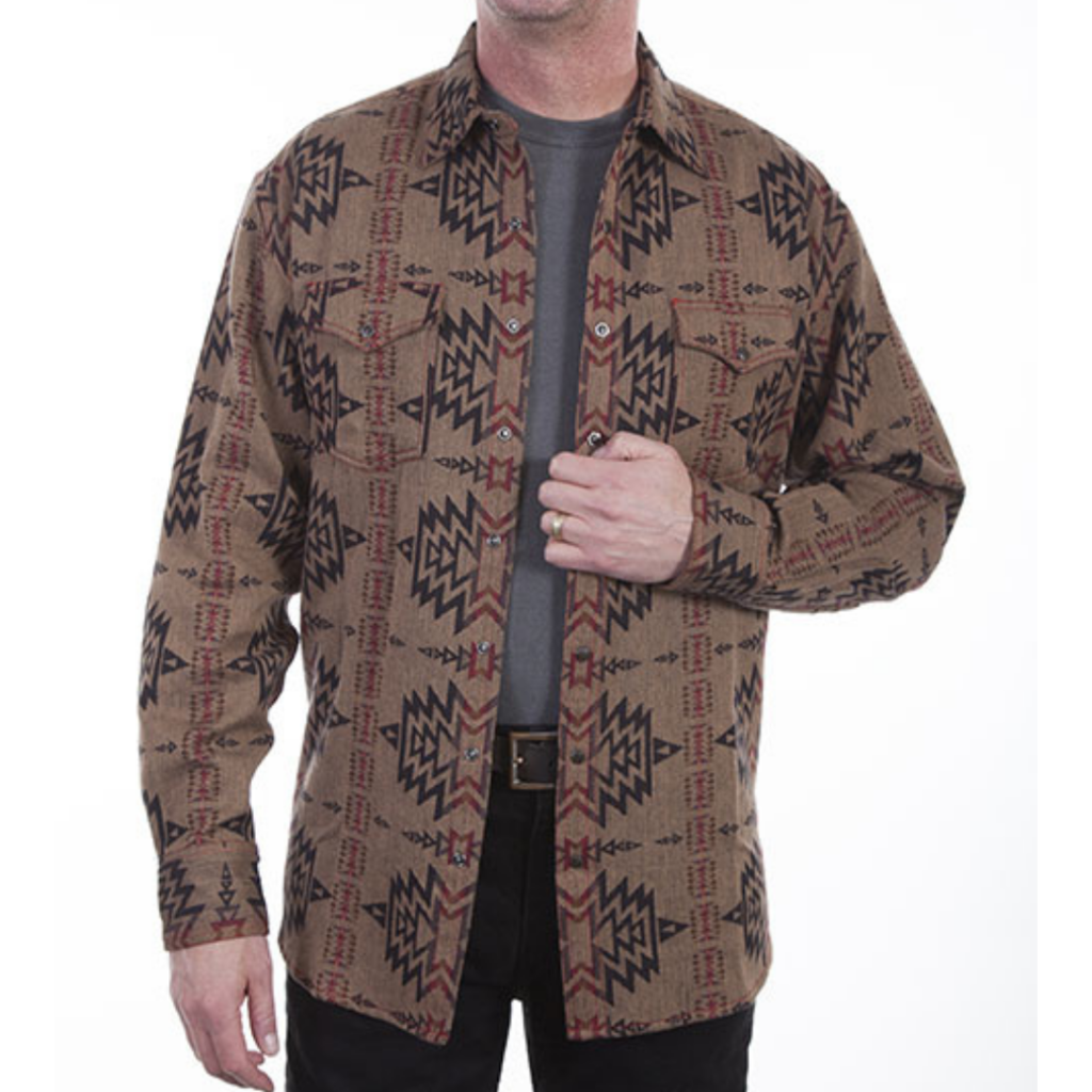 Scully | Over Shirt Aztec Weave
