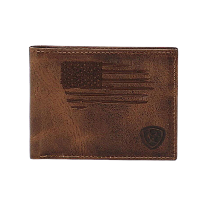 Ariat   Bifold USA Flag Wallet