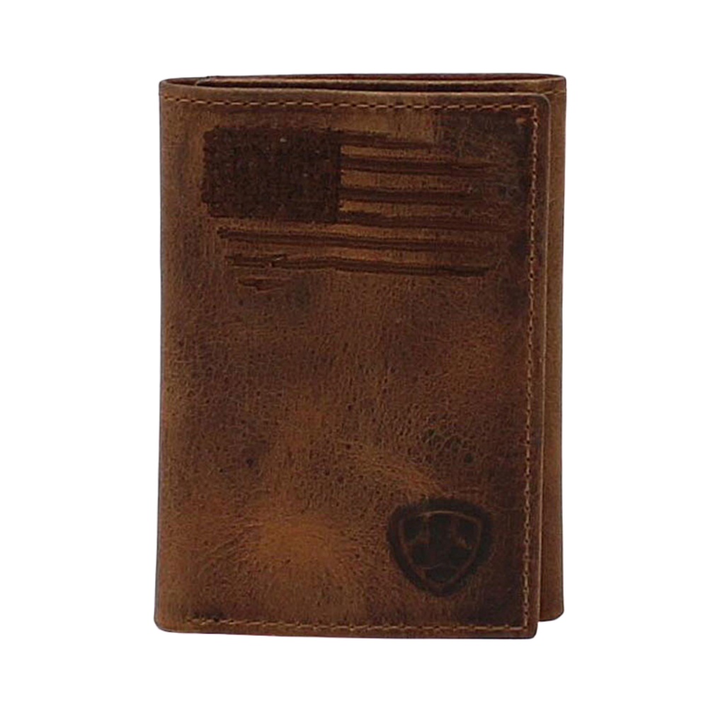 Ariat | Trifold USA Flag Wallet