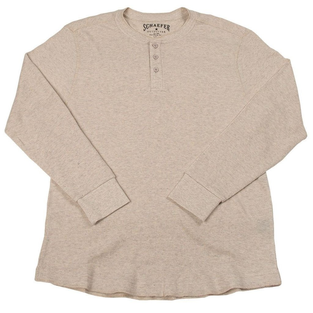 Schaefer Outfitter   Ranch Thermal Henley Shirt