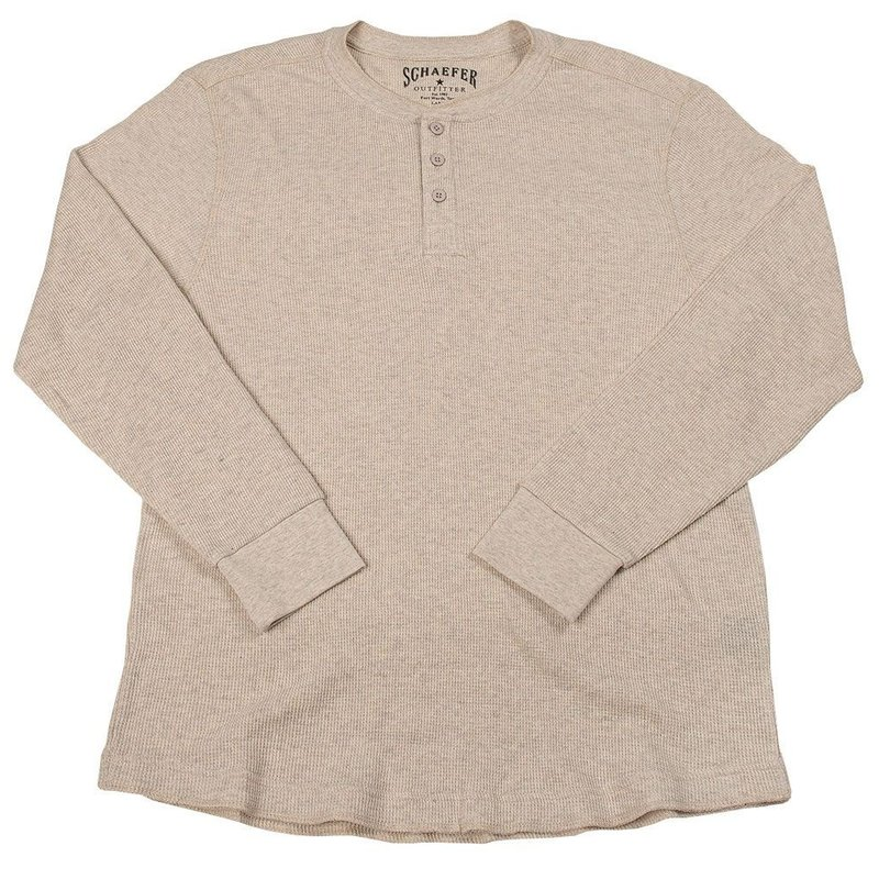 Schaefer Outfitter | Ranch Thermal Henley Shirt