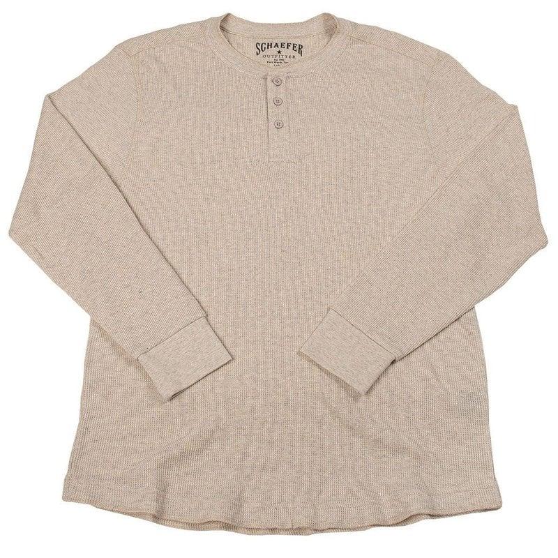 Schaefer Outfitter Schaefer Outfitter   Ranch Thermal Henley Shirt