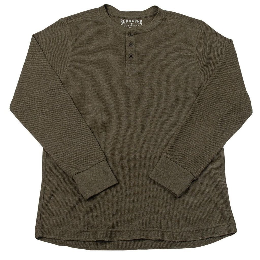 Schaefer Outfitter Schaefer Outfitter | Ranch Thermal Henley Shirt