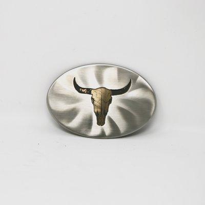 Bison Skull Belt Buckle
