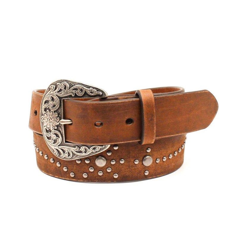 M&F Western | Floral Studded Belt