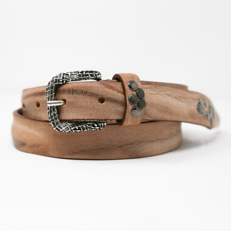 Ansaldo Imports | Light Brown Belt