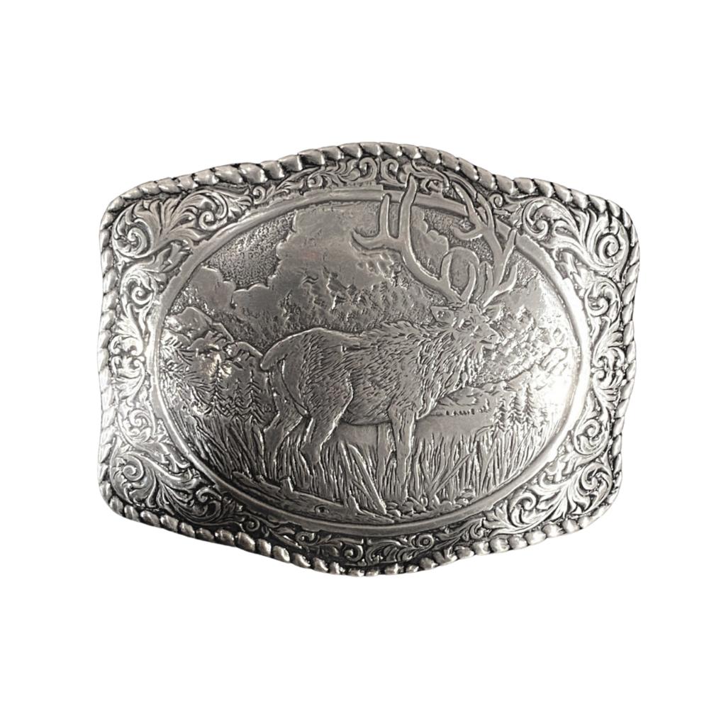 Elk Belt Buckle