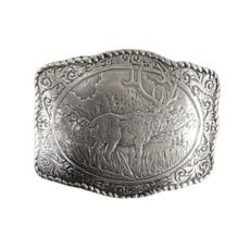 M&F Western   Elk Belt Buckle