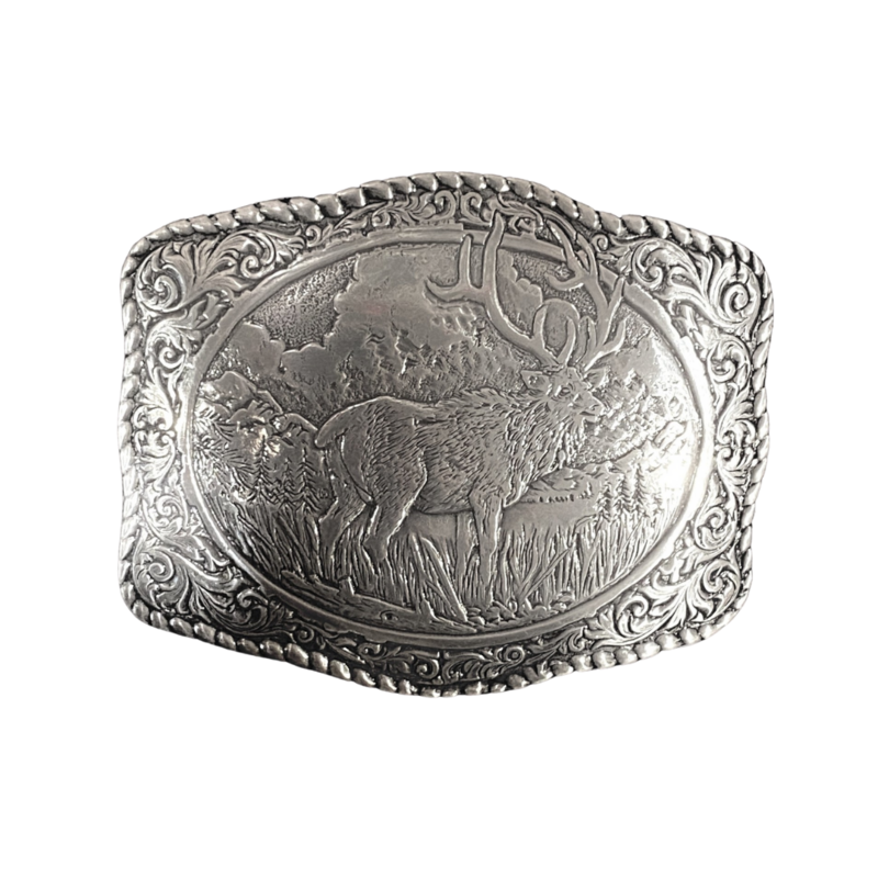 M&F Western | Elk Belt Buckle