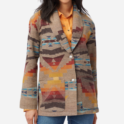 Pendleton Pendleton | Sierra Wool Jacket in Sierra Peak Jacquard