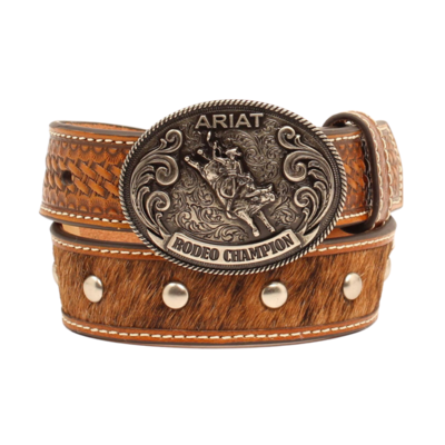 Ariat | Kid's Cowhide Tooled Leather Belt