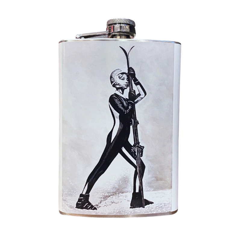 "Will Hunter + Head West Exclusive | Skieuse ""Apres Ski"" Flask"