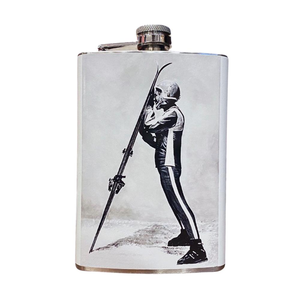 "Will Hunter + Head West Exclusive | Skieuse ""Alpine Glow"" Skier Flask"