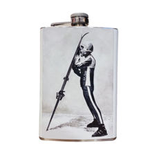 "The Will Hunter Line by Head West Will Hunter + Head West Exclusive | Skieuse ""Alpine Glow"" Skier Flask"