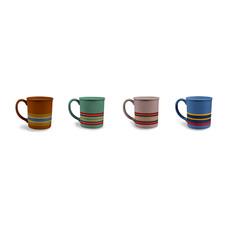 Pendleton Pendleton |  Mug (Set of 4) in Camp Stripe