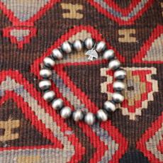 Peyote Bird | Large Navajo Pearl Bracelet 10mm