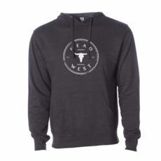 Head West Head West Exclusive | Cow Skull Hooded Sweatshirt