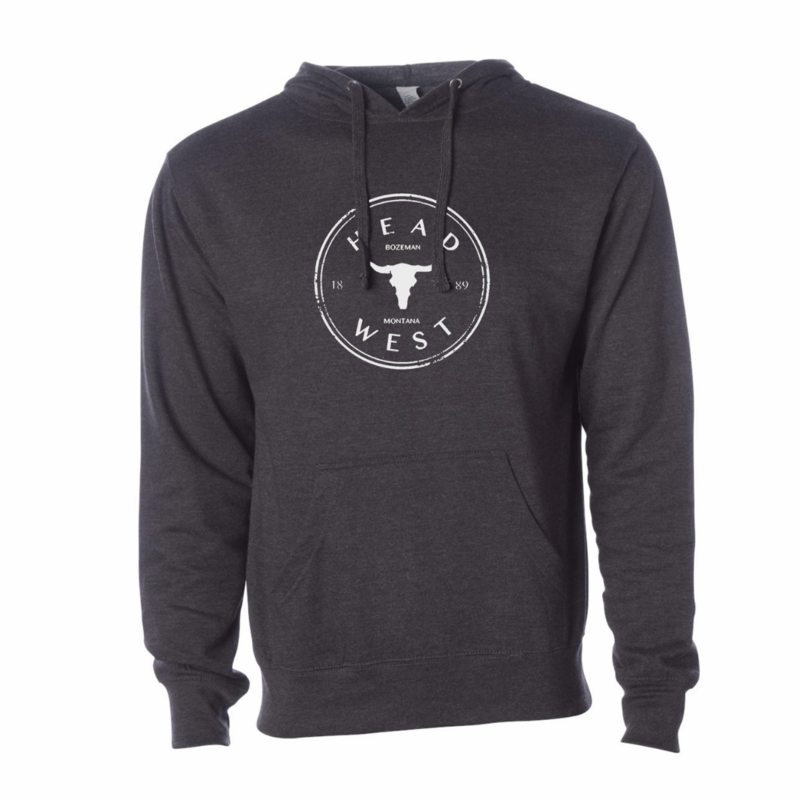 Head West Head West Exclusive | Cow Skull Hooded Sweatshirt