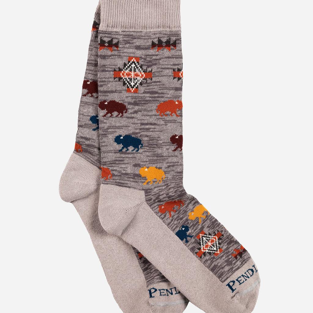 Pendleton Pendleton | Crew Sock | Prairie Rush Hour