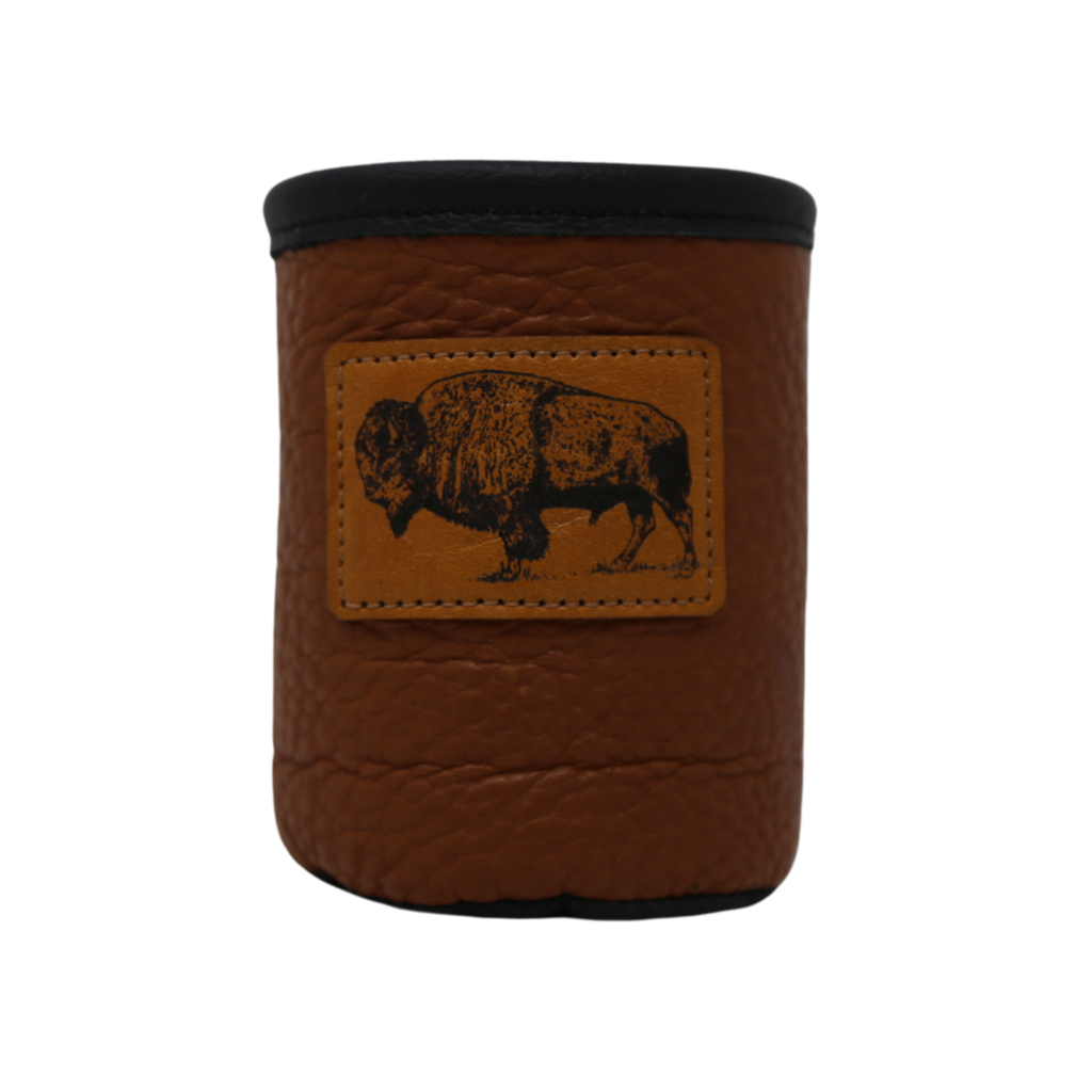 Red Sky Designs | Bison Patch Koozie