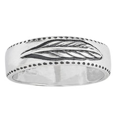 Feather Ring | Size 7, 8, 9