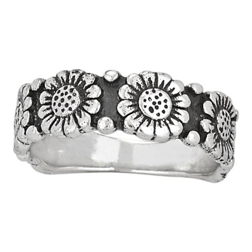 Sunflower Ring | Size 7, 8
