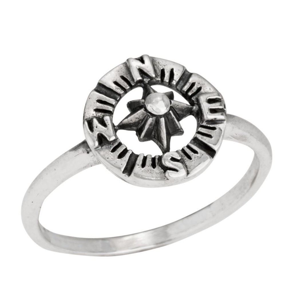 Compass Ring | Size 6, 7, 8, 9