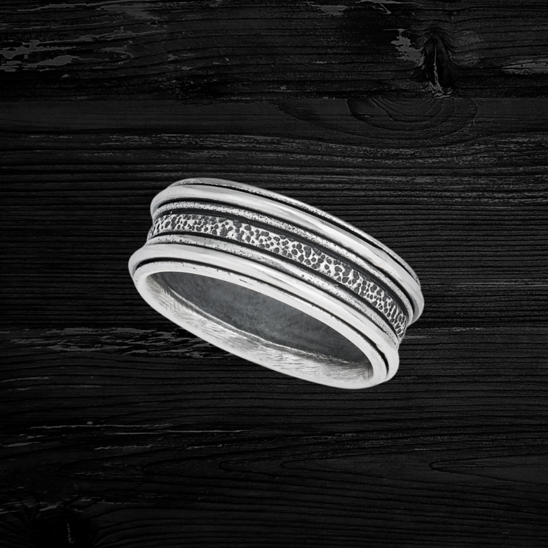 Sterling | Spin Ring | Size 8
