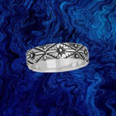 Geometric Stamp Ring | Size 6, 7, 8, 9