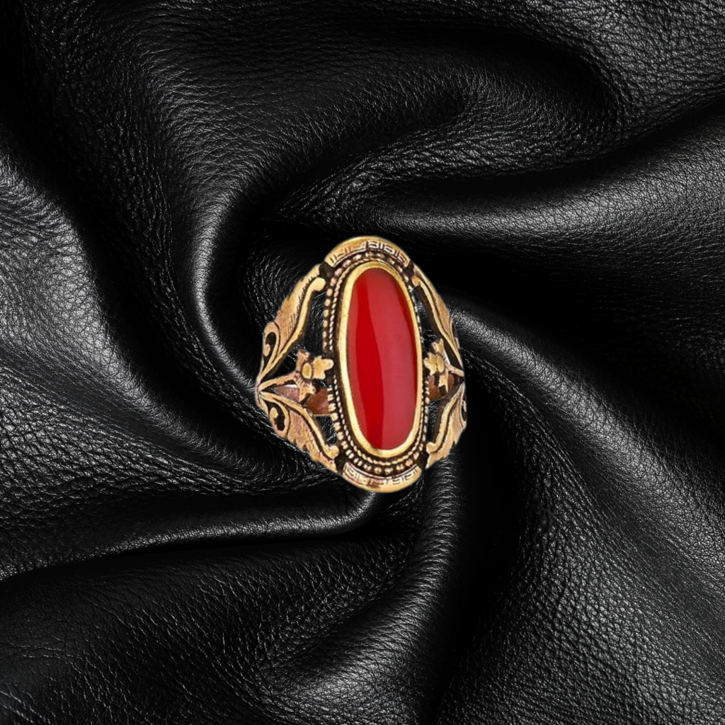 Red Gold Ring | Size 7, 8, 9