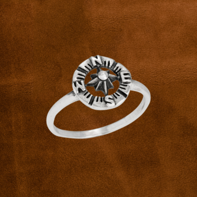 Compass Ring   Size 6, 7, 8, 9