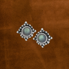 Sterling Silver | Moonstone Earrings