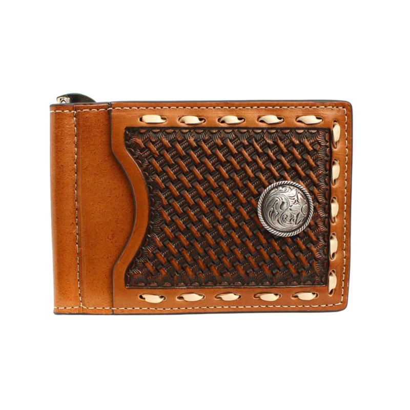 Nocona   Slim Fold Money Clip Wallet