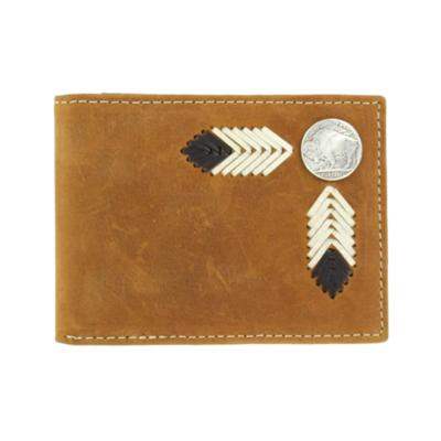Nocona   Buffalo Nickel Passcase Wallet