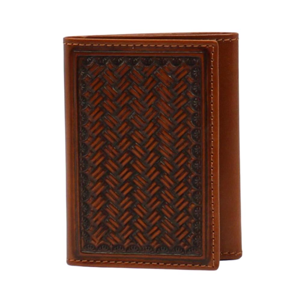 Nocona   Tri-Fold Wallet   Tan
