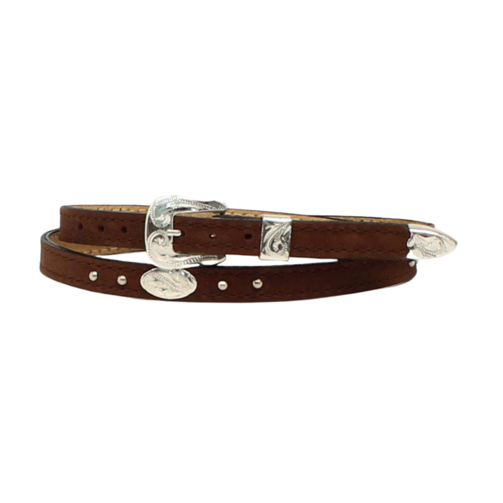 M&F Western | Concho Leather Hatband