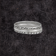 Triple Band Ring | Size 6, 7, 8, 9