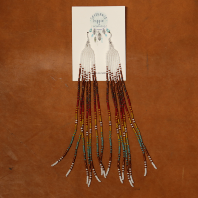 Sagebrush Hippie Creations | Beaded Earrings