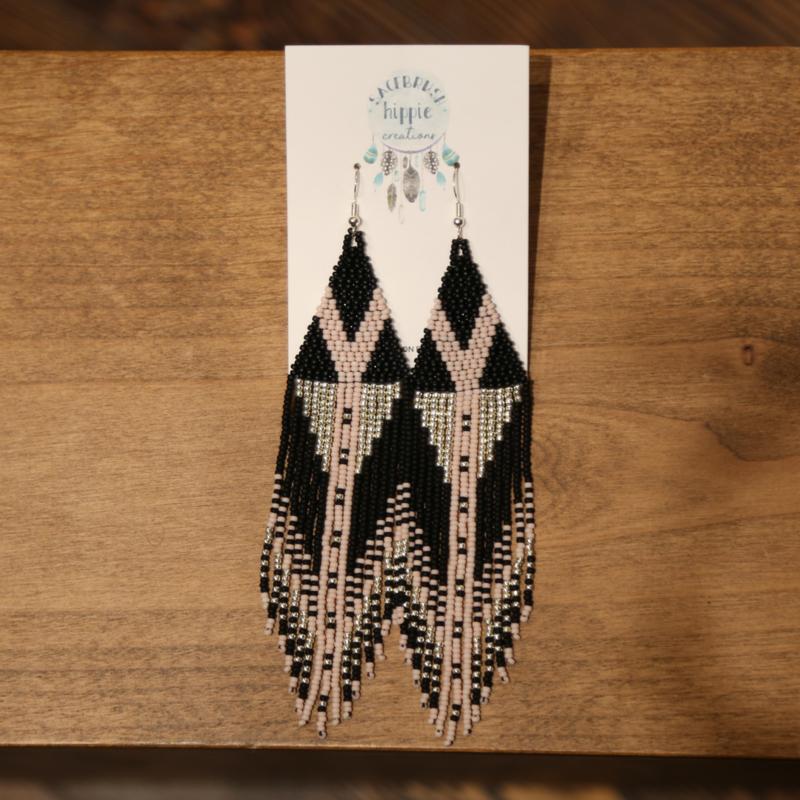 Sagebrush Hippie Creations | Beaded Earrings