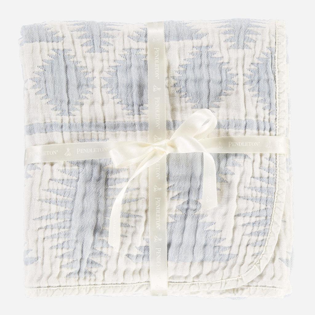 Pendleton Pendleton | Cotton Woven Baby Blanket Falcon Cove in Slate