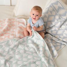 Pendleton Pendleton | Cotton Woven Baby Blanket Falcon Cove in Pink