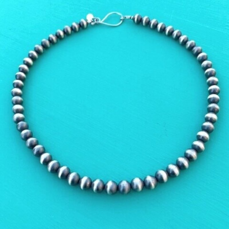 Cynthia Out West | 8mm Navajo Pearls 18""